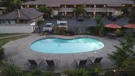The Jack London Lodge  - Pool View
