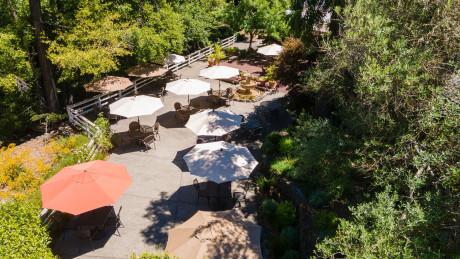 The Jack London Lodge  - Creekside Patio